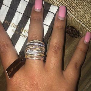 Henri Bendel layered ring